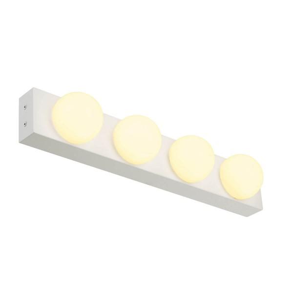 VAYNISSA Wand- und Decken- leuchte, chrom, 4x LED