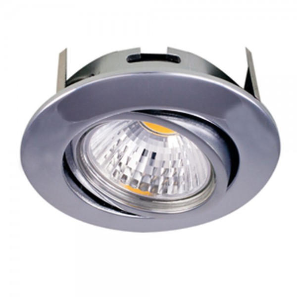 LED Downlight 5068 T Flat chrom