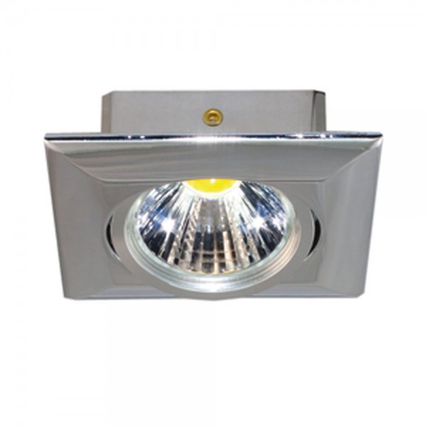 LED Downlight 5068Q T Flat chrom