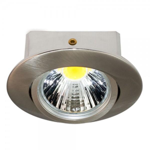 LED Downlight 5068 T Flat nickel-gebürstet