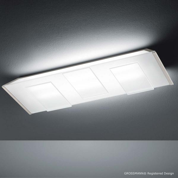 LISO nickel-matt inkl. 2 x Leuchtstofflampe 1750 lm / 24 W / 3000 K
